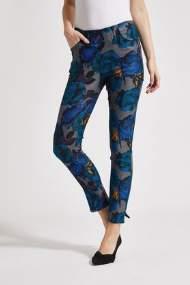 salg af Lau-Rie Bukser i blå print Kelly Regular