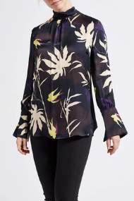 salg af Lau-Rie - skjorte bluse med blomster møns.