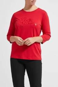 salg af Lau Rie T-shirt i rød-print for på.