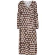 salg af Marta stor-kjole i brændte farver
