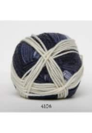 salg af Merino Uld Blå Melleret fra Hjertegarn