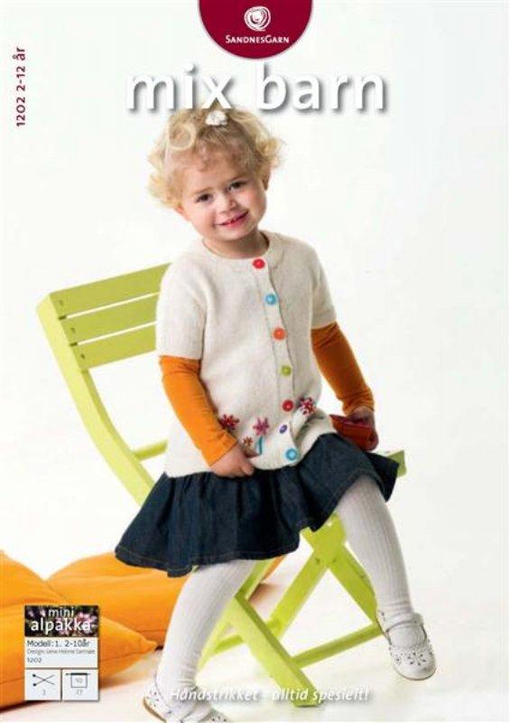 d855aae3 Mix barn nr, 1202 fra Sandnes garn - Online salg af Sandnes Garn
