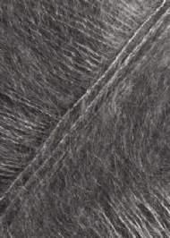 salg af Grå mohairgarn med silke  fra SandersGarn