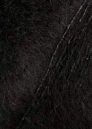 salg af Sort mohairgarn med silke  fra SandersGarn