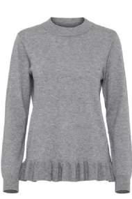 salg af Myndia jumper bluse grå b.young