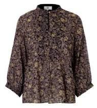 salg af Noa Noa Blomstret bluse black