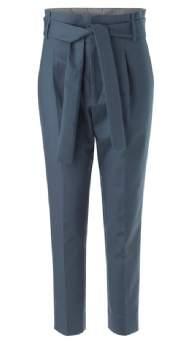 salg af Noa Noa Bukser med bindebånd blå