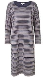 salg af Noa Noa kjole i blå med glimmer