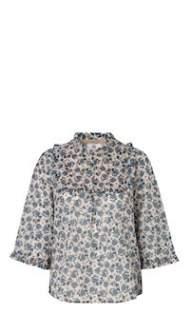 salg af Noa Noa Skjorte bluse i møns. print
