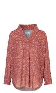 salg af Noa Noa skjorte bluse i print red