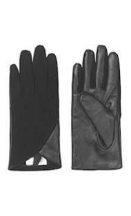 salg af Noa Noa sort skind handske