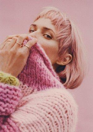 """salg af OH LAND opskrift """"Stærk sweater"""""""