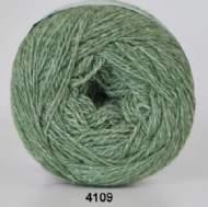 salg af Organic wool Cotton grøn 4109 fra hjertegarn