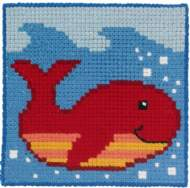 salg af Påtegnet Børne broderi fra Permin Børnestramaj Fisk