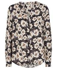 salg af Pep skjorte i viskose med blomster møns.