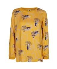 salg af Pep Stor-skjorte i gul med tiger