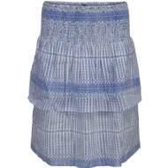 salg af Peppercorn nederdel i lysblå print