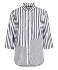 salg af peppercorn skjorte bluse i koks strib