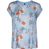 salg af Peppercorn T-Shirt i blå farve med blomster