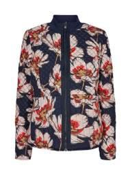 "salg af Peppercorn "" vendbar""  jakke, Print forpå, marine bagpå."
