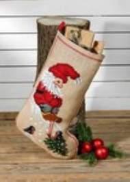salg af Permin jule sok med nisse og fugle