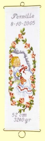 salg af Dåbs klokkestreng til pige.