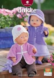 """salg af Sandnes """"Dukke-tøj"""" hæfte nr 0909"""