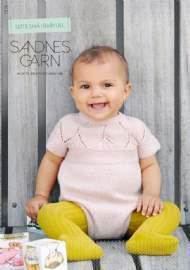 """salg af Sandnes Garn Baby hæfte 1515 """"Helt NY"""""""