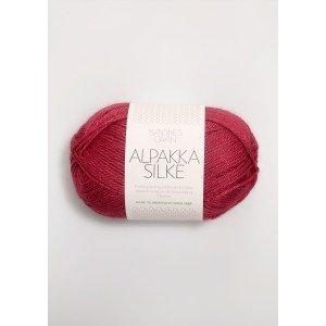 salg af Sandnes Garn Alpakka-Silk Bær Rød
