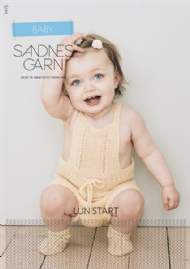 salg af Sandnes Garn hæfte nr. 1415 baby.