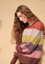 salg af Sandnes Garn opskrift- stribe genser