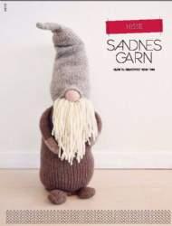 salg af Sandnes Garn Strikket Nisse
