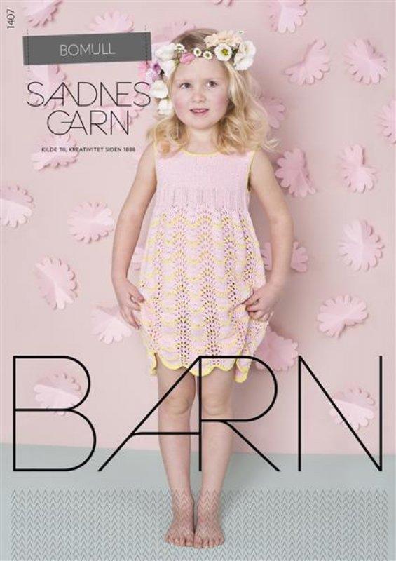 7f3f8781 Sandnes hæfte til barn nr. 1407 - Online salg af Sandnes Garn