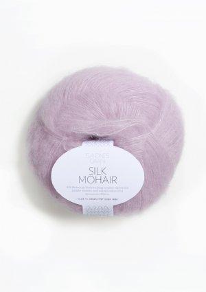salg af Silk Mohair lavendel 4612
