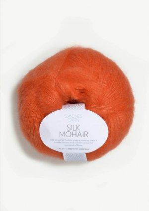 salg af Silk Mohair orange