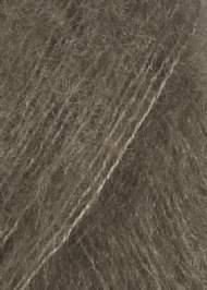 Silk Mohairgarn i lysebrun  fra SandersGarn