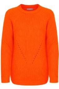 salg af Strikbluse i orange B-young