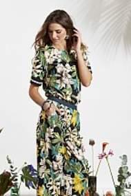salg af Ze-Ze Buks i blomster print