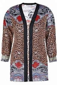 salg af Ze-Ze Kimono jakke i print