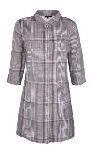 salg af ZE-ZE kjole m. mønster grå