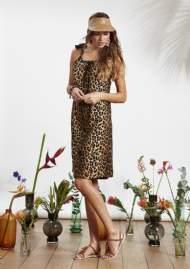 salg af Ze-ZE sommer kjole i Leo print