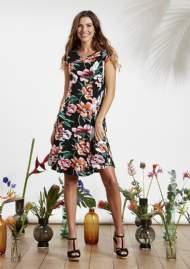 salg af ZE-ZE sommer kjole med blomster