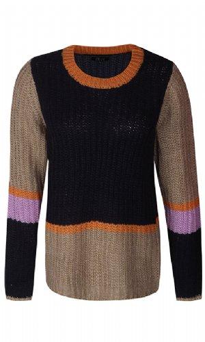 salg af Ze Ze Strik bluse i Multi farvet