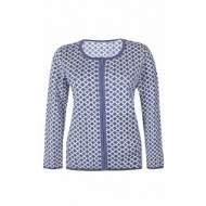 salg af Ze Ze Strik bluse med lynlås