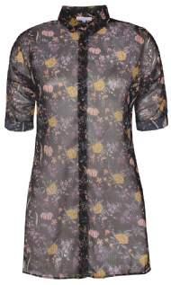 salg af ZEZE bluse med blomster